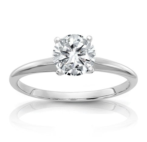 Shop solitaire engagement rings from Milwaukee jeweler