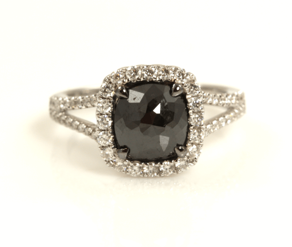 Black Diamond Eng Ring