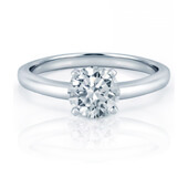 Solitaire style engagement rings in Milwaukee, WI